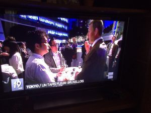 BeCRO in Tokyo, broadcasted by 'La Une' TV
